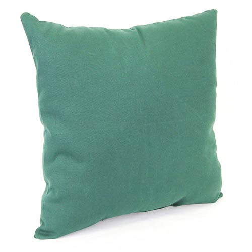 Jordan Manufacturing Company Forest Green 18-Inch Square Toss Pillow