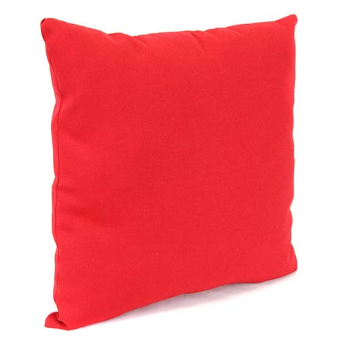 Jordan Manufacturing Company Pompei Red 18-Inch Square Toss Pillow