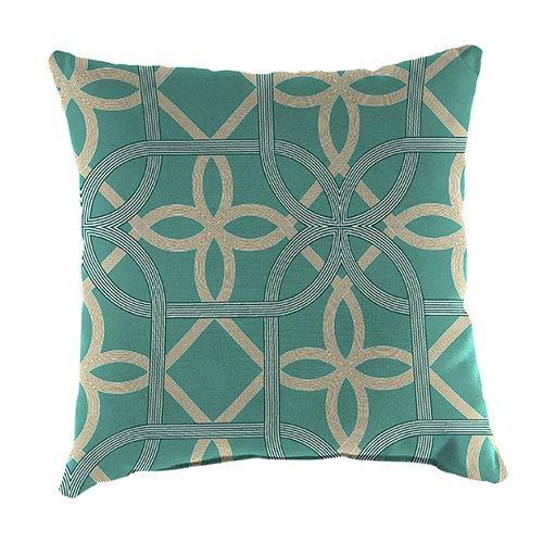 Jordan Manufacturing Company Keene Pool 16-Inch Square Toss Pillow