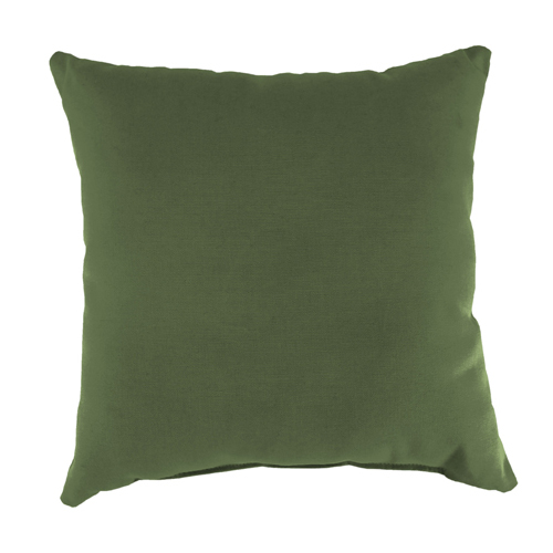 Jordan Manufacturing Company Canvas Fern Square Toss Pillow
