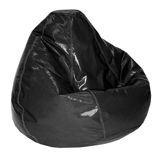 Vinyl Black Bean bag