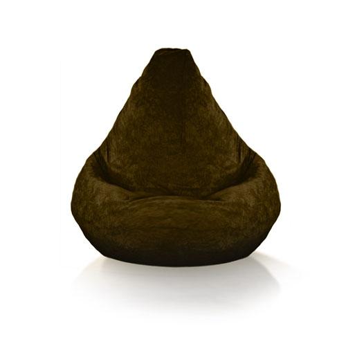 Plush Brown Bean bag