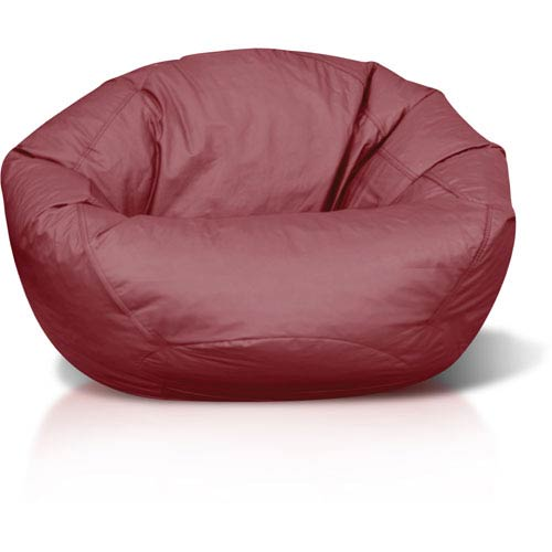 Classic Jumbo Bean Bag Burgundy Bean bag