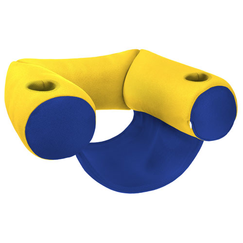 Sling Pool Float Yellow and Blue