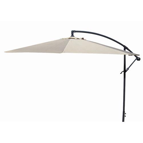 Jordan Manufacturing Company Offset Umbrellas Natural 10-Foot Steel Offset Umbrella