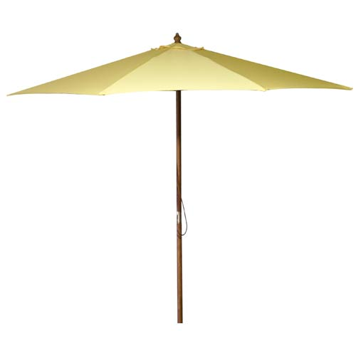 9-Foot Market Umbrella - Yellow