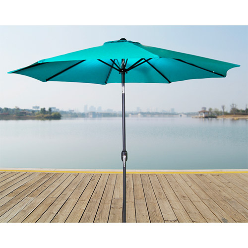 Aruba 9-Foot Steel Market Umbrella