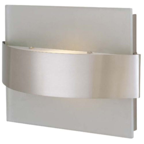 Benvolio Polished Steel One-Light Wall Sconce