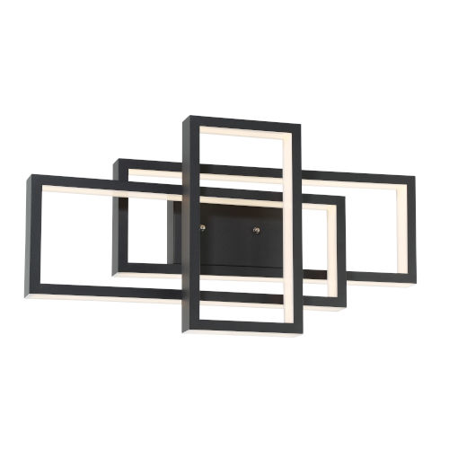 Pankler Black LED Wall Sconce