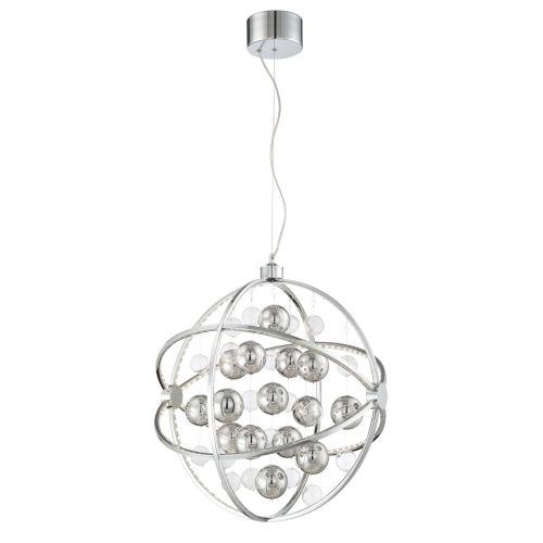 Marilyn Chrome 24-Inch Six-Light LED Pendant