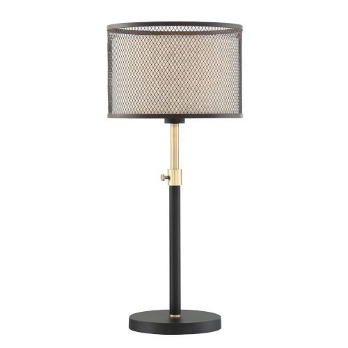 Elena Coffee Gold 28-Inch One-Light Table Lamp