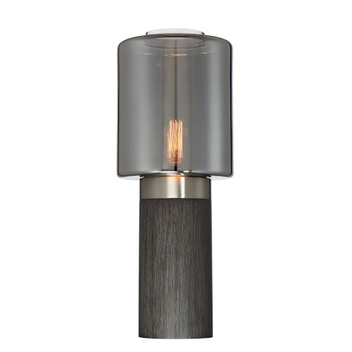Tanaka Smoked 23-Inch One-Light Table Lamp