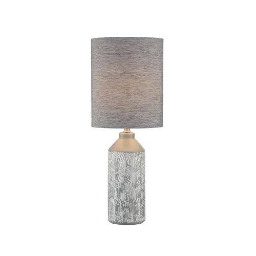 Grayton Gray 26-Inch One-Light Table Lamp