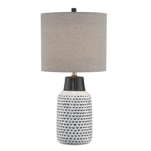 Philan Gray 28-Inch One-Light Table Lamp