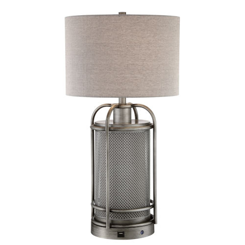 Rustie Tan 29-Inch One-Light LED Table Lamp