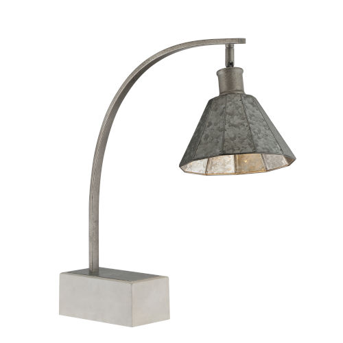 Busson Gray One-Light Table Lamp