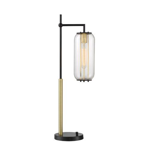 Hagen Black One-Light Table Lamp