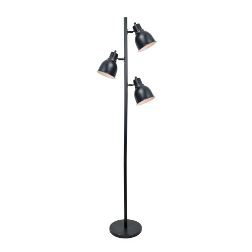 Galvin Dark Bronze 63-Inch Three-Light Floor Lamp