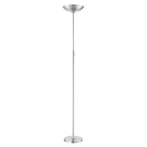 Lemuel Ii Brushed Nickel 70-Inch LED Torchiere Floor Lamp