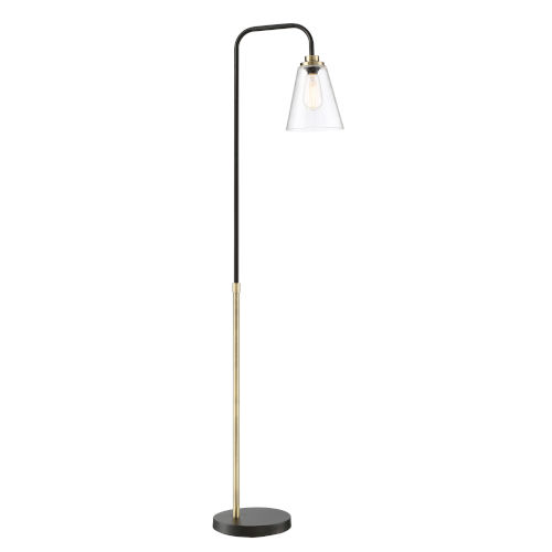 Colinton Antique Brass 62-Inch One-Light Floor Lamp