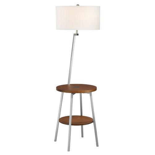 Lemington Silver One-Light Floor Lamp