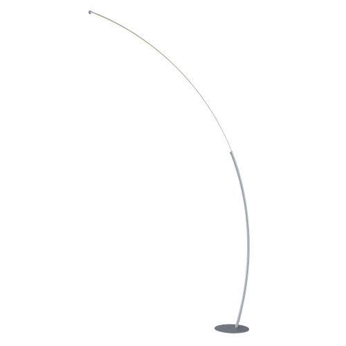 Monita Silver LED Arc Floor Lamp
