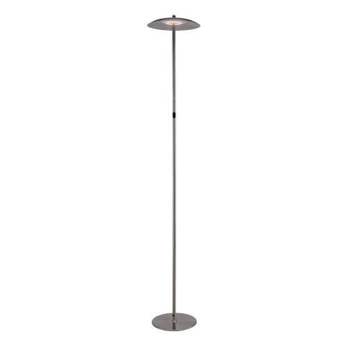 Torin Brushed Nickel LED Floor Lamp