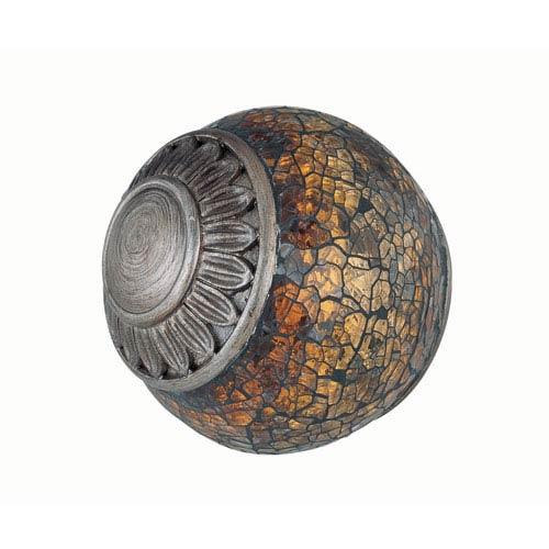 Narcisco Brown Table Top Sphere
