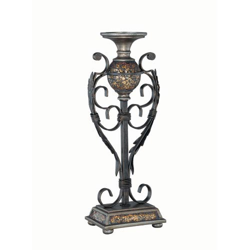 Lite Source Narcisco Brown Candleholder