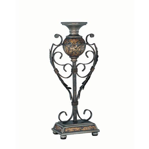 Lite Source Narcisco Brown Candleholder