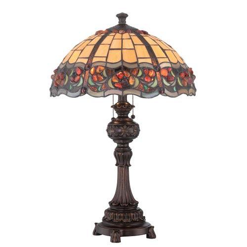 Deana Dark Bronze Two-Light Table Lamp
