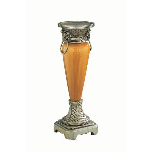 Lite Source Goldie Antique Gold Candleholder