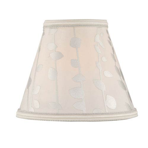 Printed Coolie Six-Inch Fabric Shade