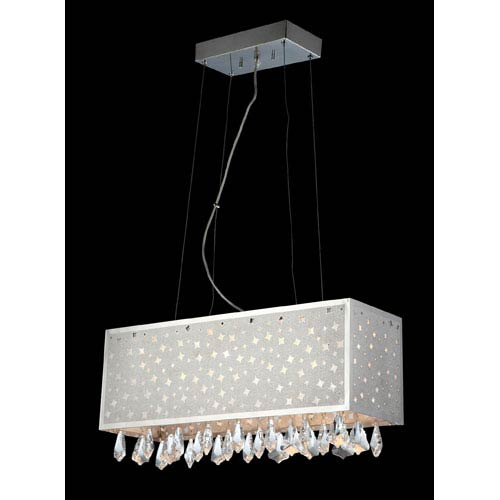 Lite Source Santuzza Crystal LED Island Pendant