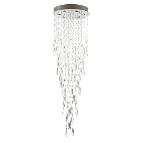 Lorelle Chrome Seven-Light LED Chandelier