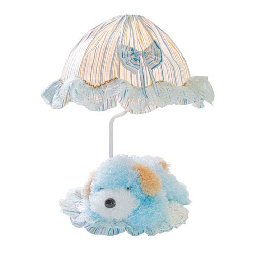 Puppy Blue One-Light Table Lamp