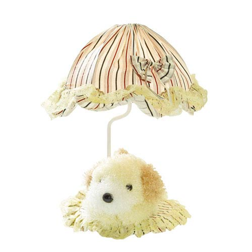 Lite Source Puppy Yellow One-Light Table Lamp