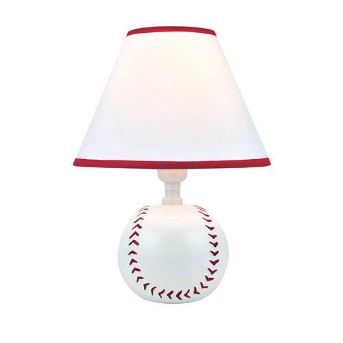 Lite Source Pitch Me White One-Light Table Lamp