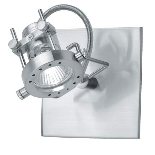 Technic Small Polished Steel Spotlight
