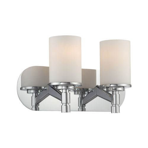 Lina Chrome Two-Light Vanity