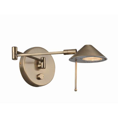 Rhine Antique Brass Sconce