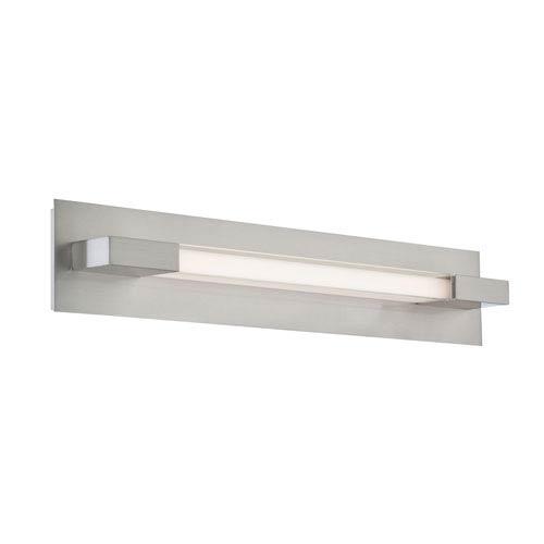 Belina LED Polished Steel One-Light Wall Sconce