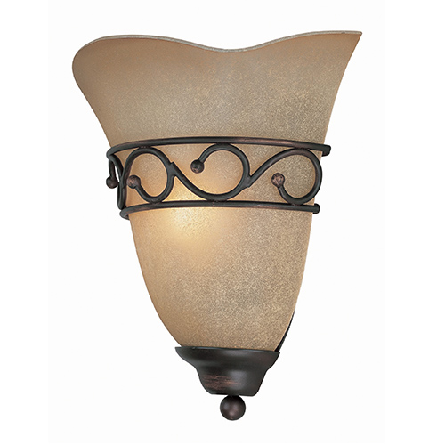 Lite Source Rosina Dark Bronze One Light Wall Sconce