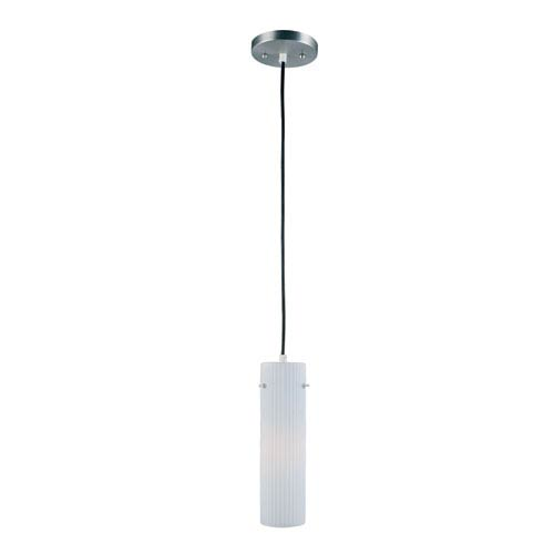 Lite Source Nowles Polished Steel One-Light Mini Pendant