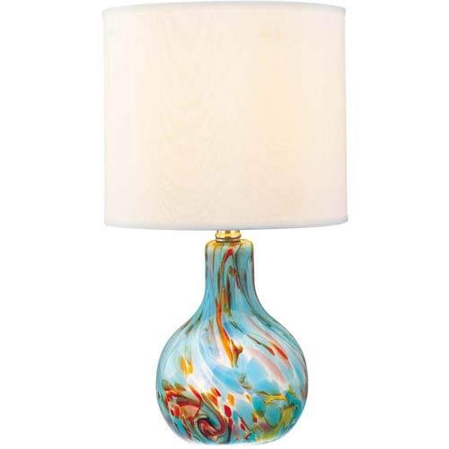 Pepita Aqua Table Lamp