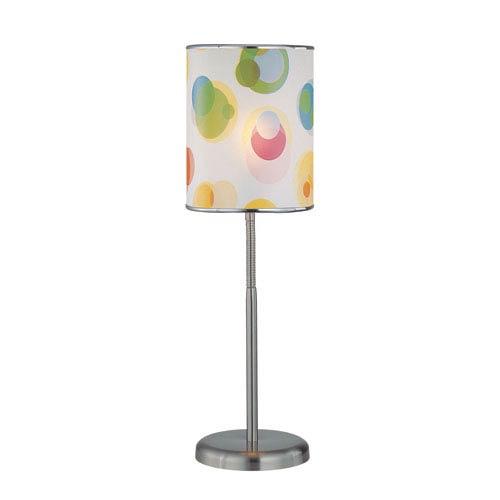 Lite Source Levendig Polished Steel One-Light Table Lamp