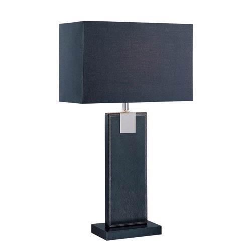 Remigio Black One-Light Table Lamp