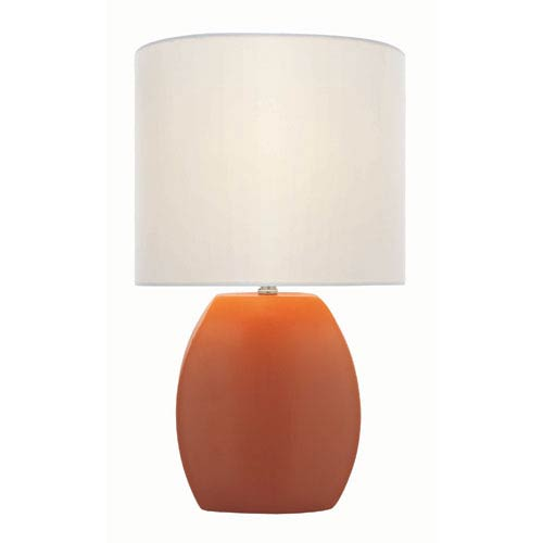 Reiko Orange One-Light Table Lamp