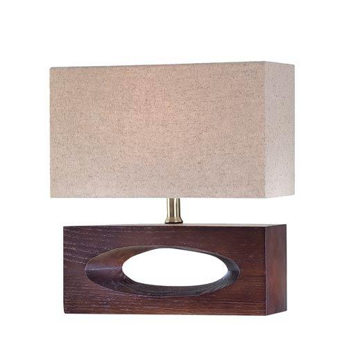 Lite Source Pierre Dark Walnut Table Lamp