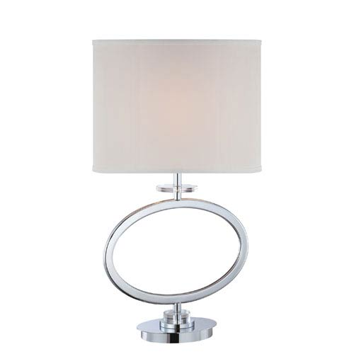 Lite Source Renia Chrome One-Light Table Lamp